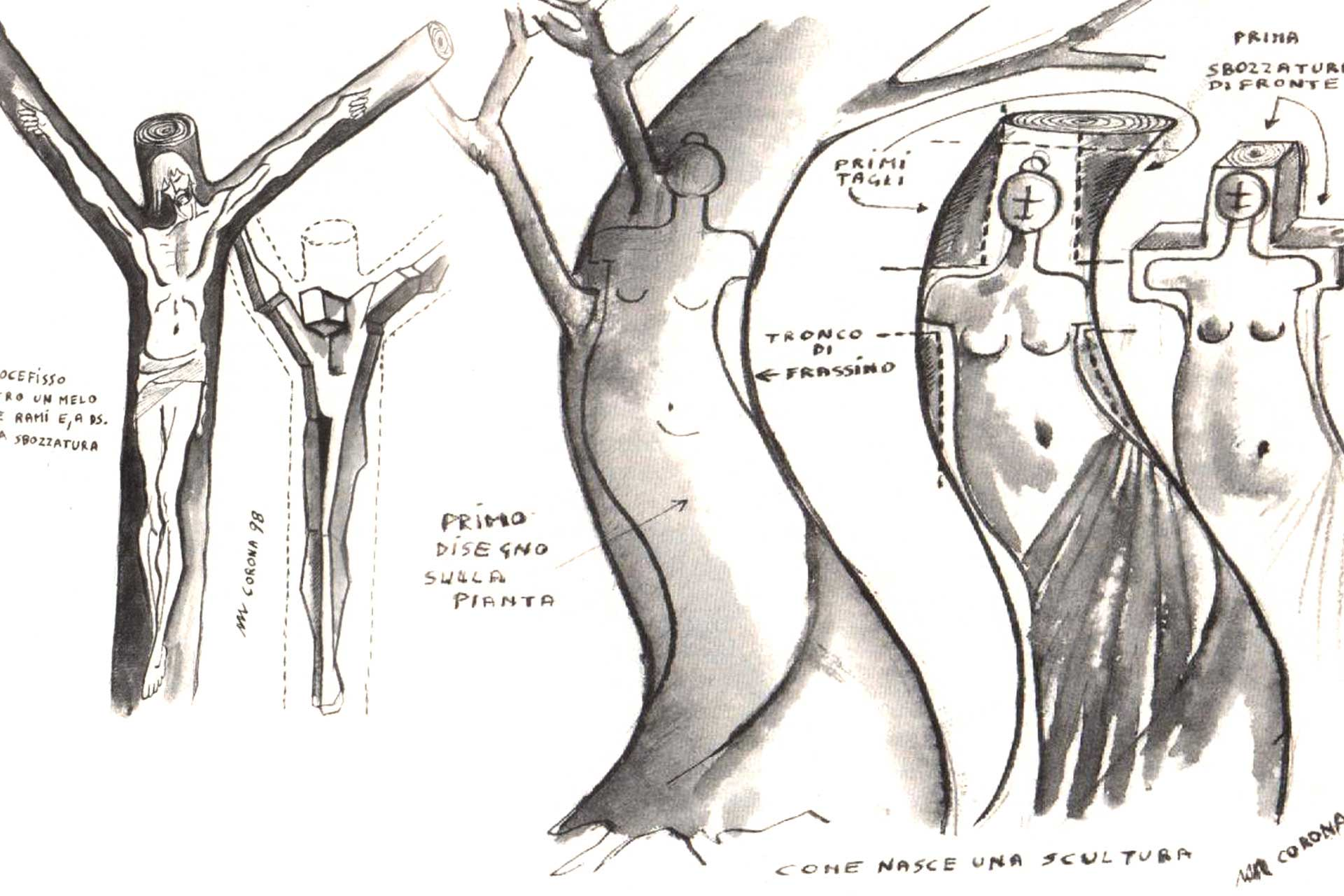 Sculture Mauro Corona
